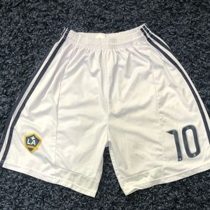 Adidas LA Galaxy Shorts #10